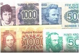 Noruega desmonetiza los billetes de la Serie VI