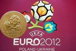 1 hryvnia para la Eurocopa de Fútbol UEFA 2012