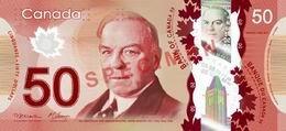 Canadá ha estrenado billetes polímeros de 50 dólares