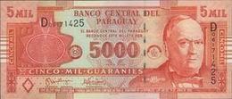 La Candian Bank Note Company imprime los polímeros de 5.000 guaraníes