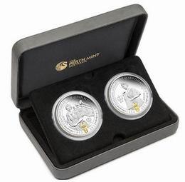 Dos monedas australianas en plata para celebrar el Jubileo de Isabel II
