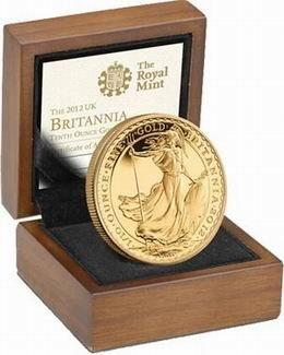 25 Aniversario del bullion Britannia de Philip Nathan