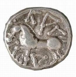 Hallazgo de un tesoro de monedas celtas en la localidad suiza de Füllinsdorf