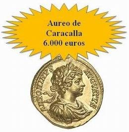 Áureo&Calicó: Moneda antigua y una gran colección de Carlos IV