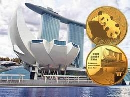 Singapore International Coin Fair tuvo medalla oficial Panda