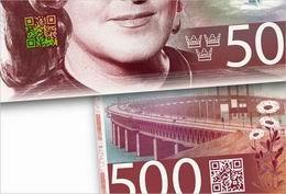 """Suecia emitirá los primeros billetes """"QR"""" del mundo"""
