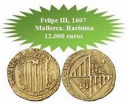 Rarísimas e inéditas monedas en la subasta de Áureo&Calicó