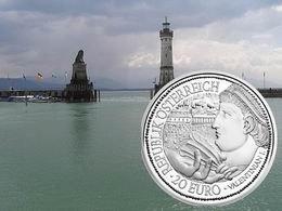 """Se cierra la serie austriaca """"Roma, a orillas del Danubio"""" con una moneda dedicada a Brigantium"""