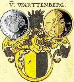 Medallas conmemorativas checas dedicadas a la Casa de Watemberg