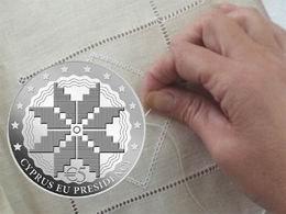 Moneda conmemorativa de la presidencia de Chipre de la UE