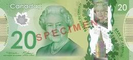 Presentado el nuevo billete de 20 dólares canadienses en polímero