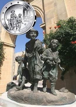 "10 euros de Malta para ""Les Gavroches"", de Antonio Sciortino"