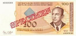 Nuevos billetes bosnios de 10, 20, 50 y 100 marcos convertibles