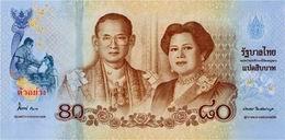 Billetes conmemorativos para celebrar cumpleaños de la Casa Real tailandesa