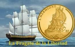 """Nueva Serie de monedas en plata y oro dedicada a """"Los Grandes Navíos Franceses: L'Hermione"""""""
