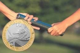 Londres 2012 pasa el testigo a Rio de Janeiro 2016 con monedas conmemorativas de 2 libras