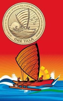 Dos monedas conmemorativas para celebrar el 50 Aniversario de la independencia de Samoa
