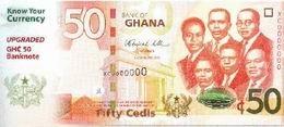 Mejoras en la seguridad de los nuevos billetes de 50 cedi de Ghana