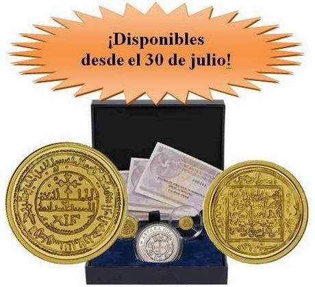 "IV Serie de ""Joyas Numismáticas"": Maravedí o morabetino, Dinar y Dinero"
