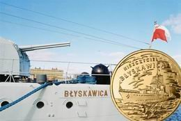 "Medalla ""Virtuti Militari"" para el destructor polaco ""Błyskawica"