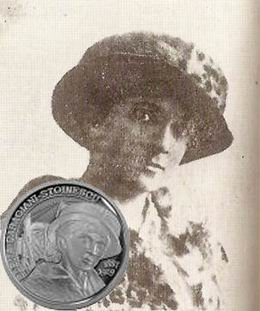 Moneda conmemorativa de plata para Elena Caragiani-Stoinescu, la primera aviadora rumana
