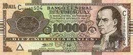 """Ya circulan billetes de 10.000 guaraníes con la nueva Serie """"G"""" 2012"""