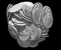 Rayos X y un sistema de 3D identifican y datan monedas romanas