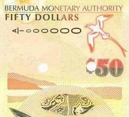 En Bermudas circula un nuevo billete de 50 dólares