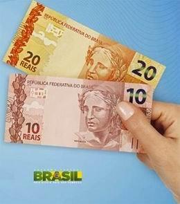 Segunda Familia de reais: nuevos billetes de 10 y 20