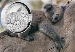 """El bullion de plata """"Koala"""" 2012 por primera vez en alto relieve"""