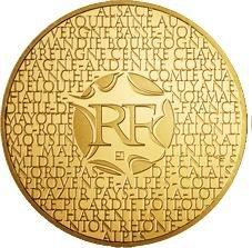 """200 euros de oro para las """"Regiones Francesas"""""""