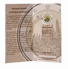 """Carterita proof 2012 con los 2€ """"Catedral de Burgos"""""""