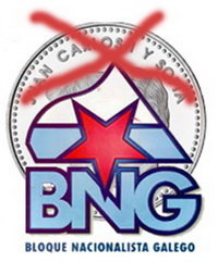 El BNG no quiere que los Reyes aparezcan en los anversos de las monedas españolas