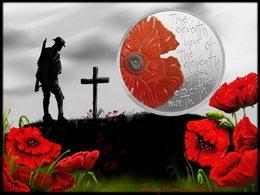 """Alderney conmemora el """"Día del Recuerdo"""" con 5 libras en plata"""