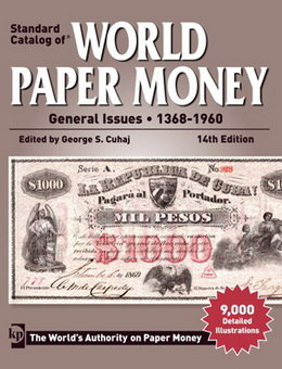 "XIV Edición del ""Standard Catalog of World Paper Money General Issues 1368-1960"""