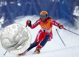 """5 euros de Austria para el Campeonato del Mundo de Esquí Alpino """"Schladming 2013"""""""