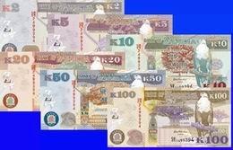 Nuevos billetes kwacha de Zambia para 2013