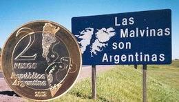 Islas Malvinas, 30 años después, en 2 pesos argentinos