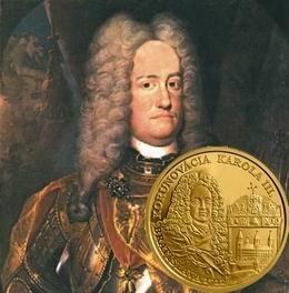 100 euros oro para la coronación de Carlos III en Bratislava