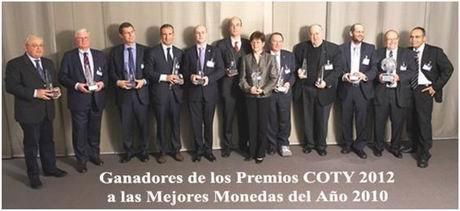 """Nominadas las emisiones acuñadas en 2011 que optan al Premio """"Mejor Moneda del Año"""""""