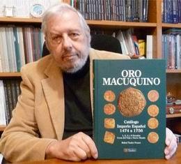 """Rafael Tauler Fesser, autor de """"Oro Macuquino"""""""