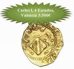 Magníficas monedas españolas en la subasta de Mónaco
