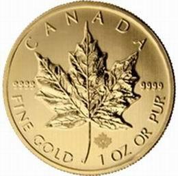 Grabado laser de seguridad para los bullion oro canadienses