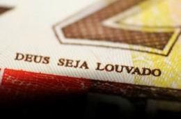 """El lema """"Deus seja louvado"""" (Dios sea alabado) será retirado de los billetes de Brasil"""