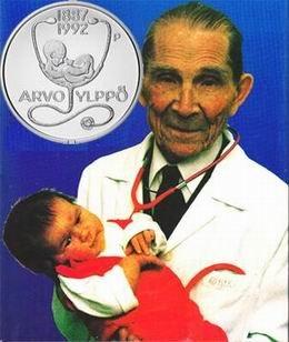 Homenaje a Arvo Ylppö, creador de la pediatría finlandesa