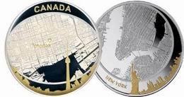 Descubierta la autoría de las 2 onzas de plata canadienses dedicadas a Toronto en 2011