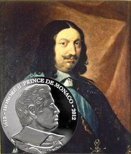 """Serie """"Los Grimaldi"""": 400 Aniversario del príncipe Honoré II de Mónaco"""