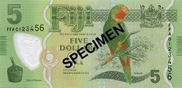 La nueva familia de billetes de Fiyi circulará en enero de 2013