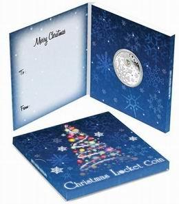 Piedras semipreciosas de colores para felicitar la Navidad