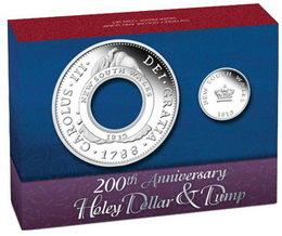 200 Aniversario del Holey Dollar y el Dump de Nueva Gales del Sur